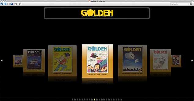Porte-document PDF GOLDEN collection