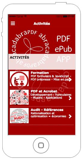 Application mobile abracadabraPDF