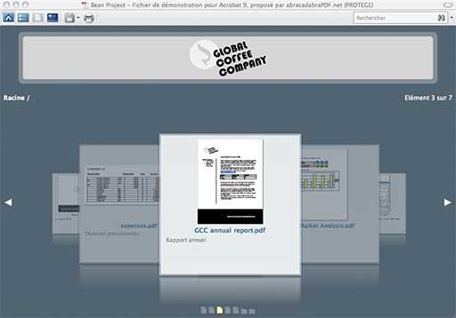 Exemple de Porte-document PDF