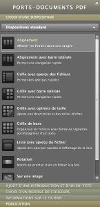 Editeur de Porte-document PDF