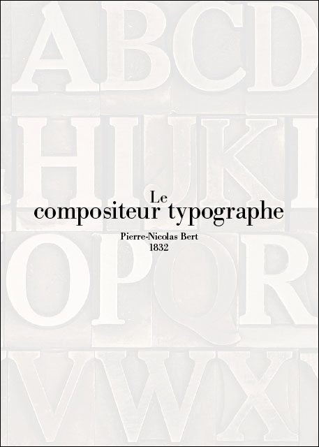 Le compositeur typographe