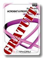 Tuto apprendre Acrobat 8 jaquette