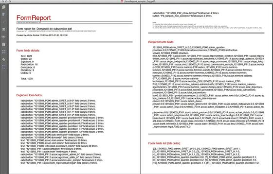 FormReport (English)