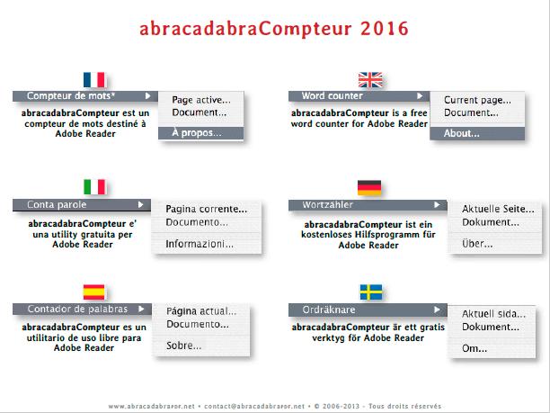 abracadabraCompteur 2016 capture d'écran