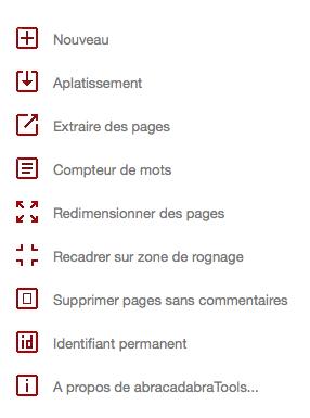 abracadabraTools en français
